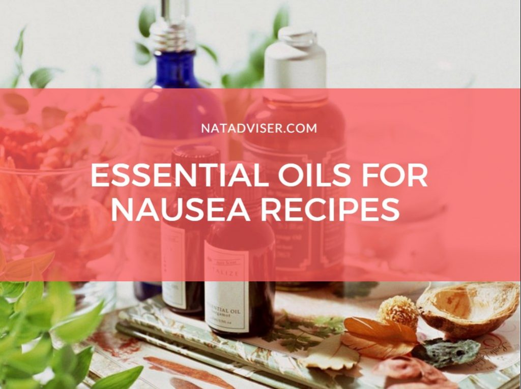 recipes for nausea with essential oils