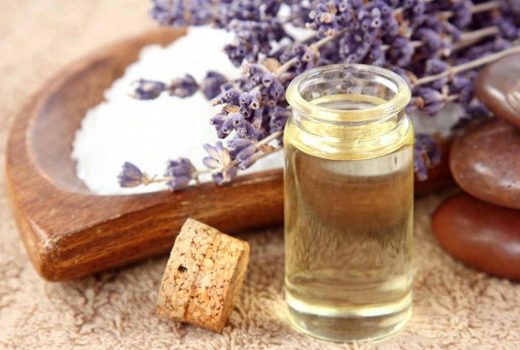 Lavender essential oil For Healing Scars