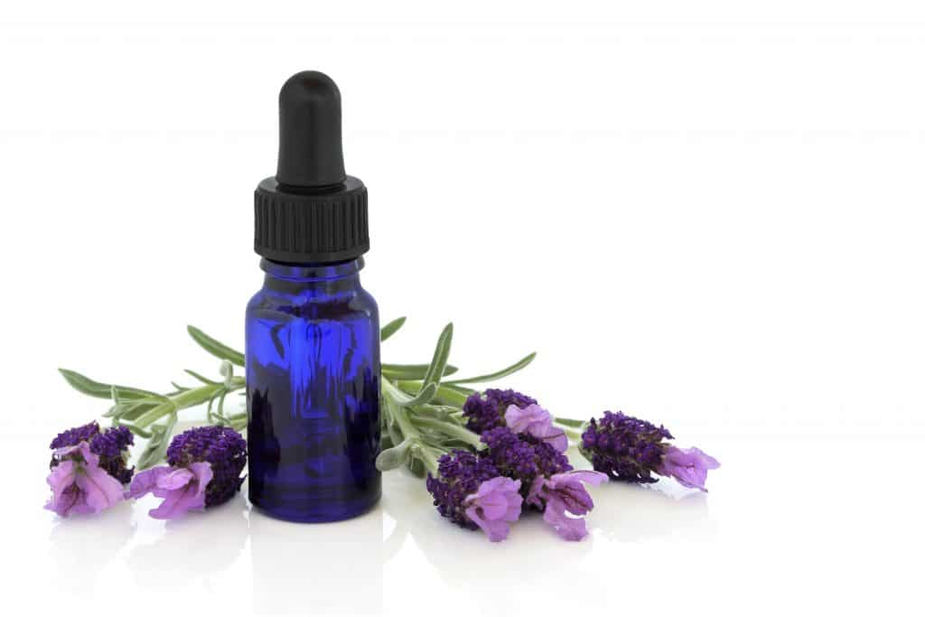 Lavender essential oil for acne