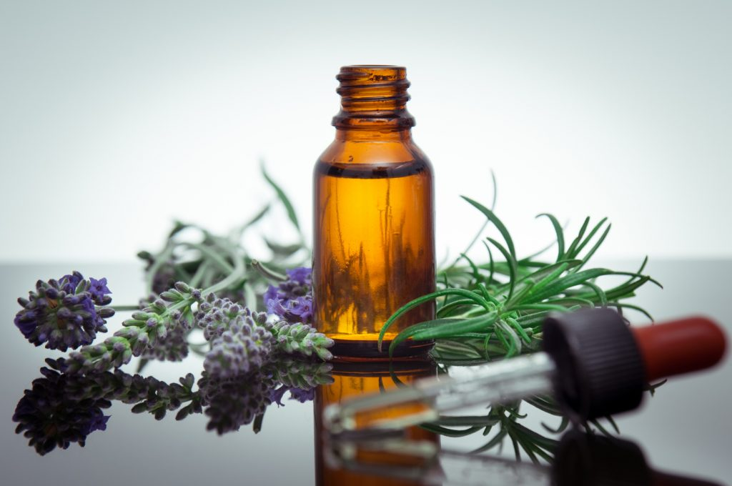 Rosemary essential oil for acne