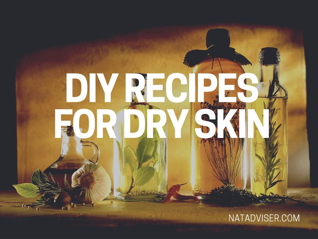 DIY Recipes for Dry Skin
