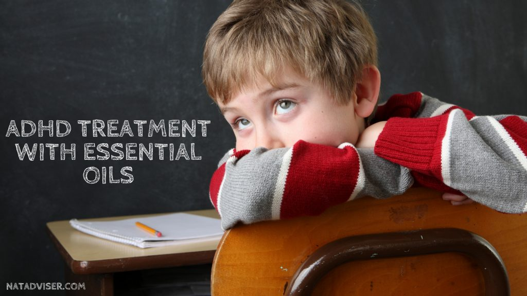 ADHD Treatment with essential oils