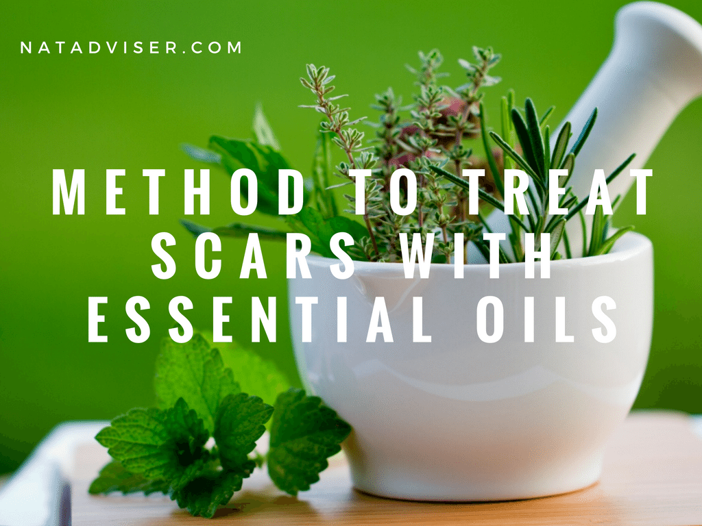 Methods to treat scars with Essential Oils