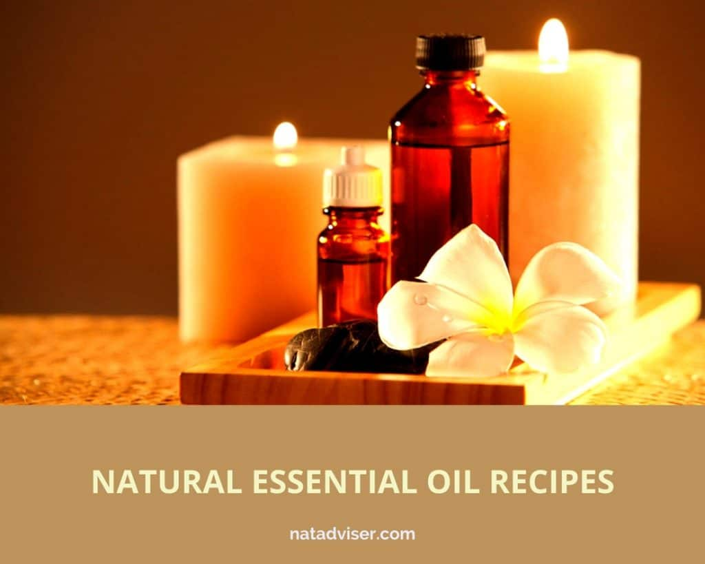 Natural essential oil recipes