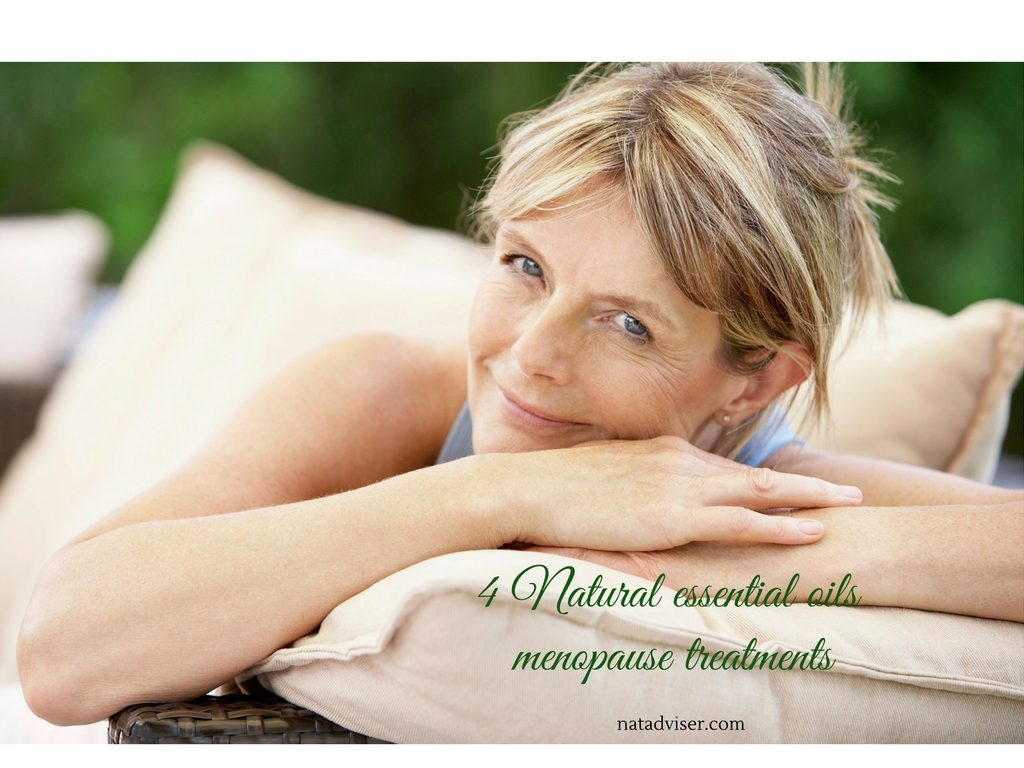 4 Natural essential oils menopause treatments