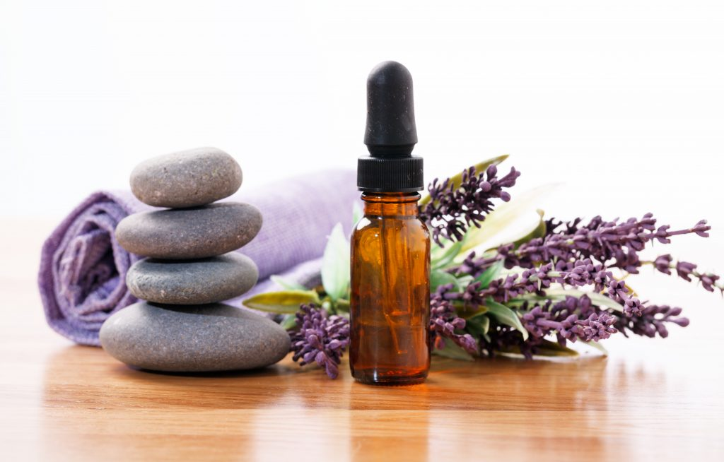 Lavender essential oil for menstrual cramps