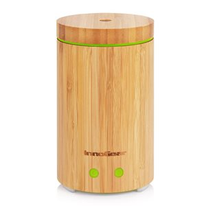 InnoGear Real Bamboo Essential Ultrasonic Aromatherapy Diffuser