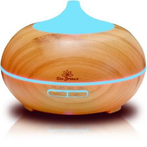 Zen Breeze Essential Ultrasonic Cool-Mist Diffuser