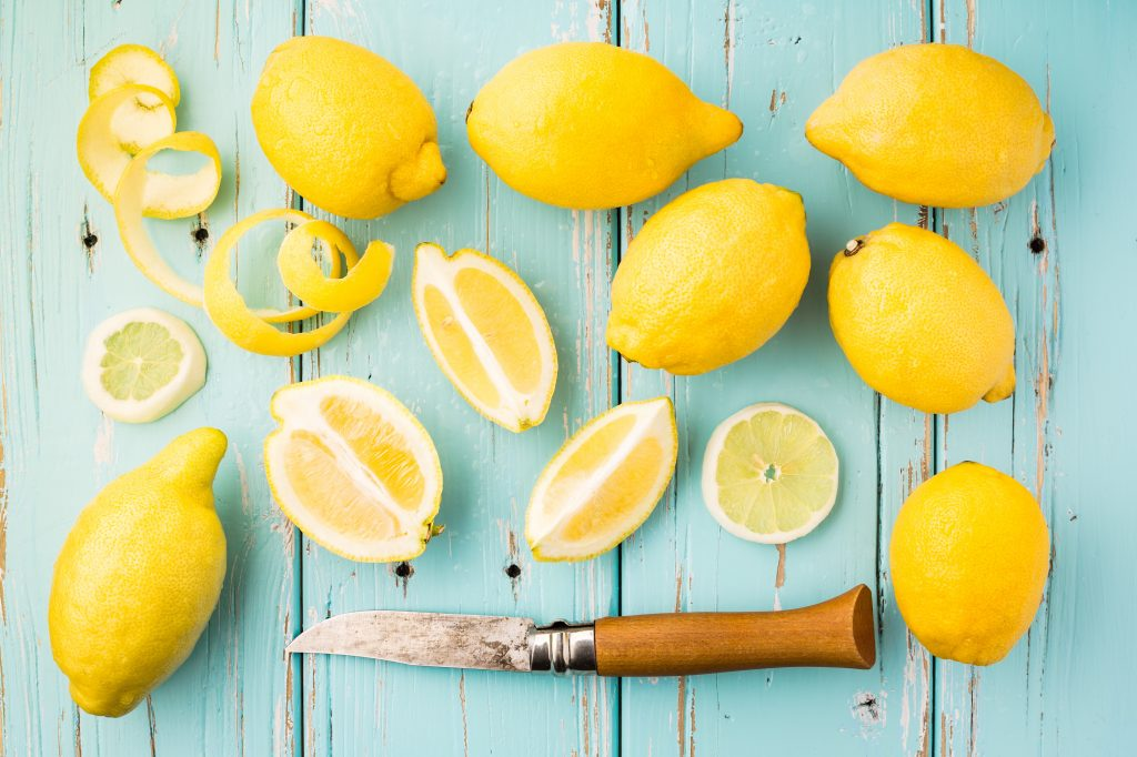 Lemon essential oil for menopause