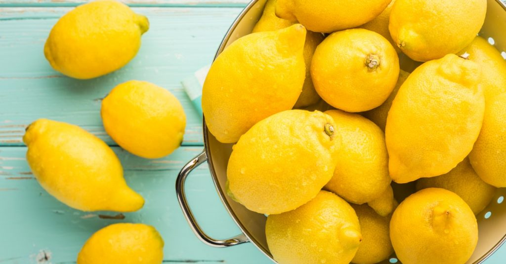 Lemon essential oil for energy