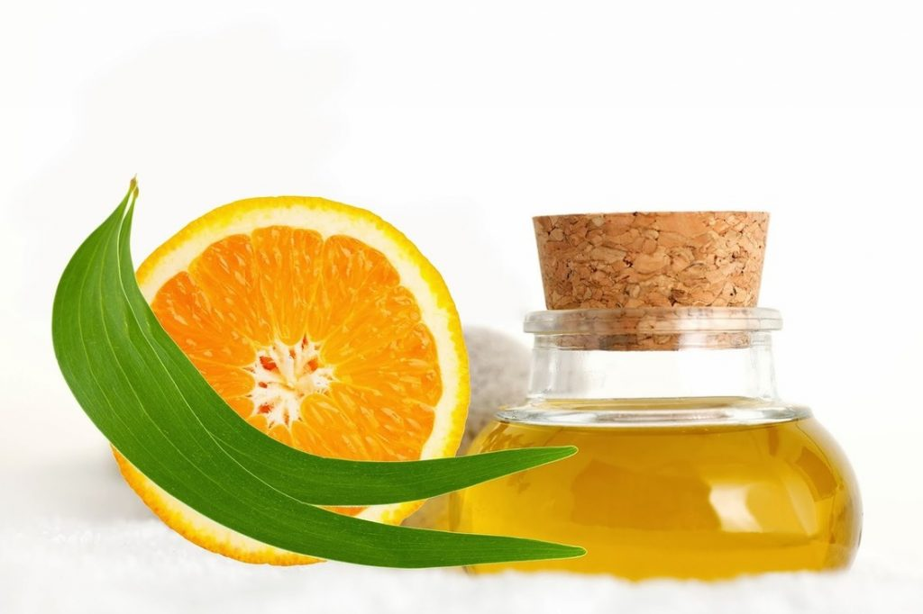 Orange essential oil for energy