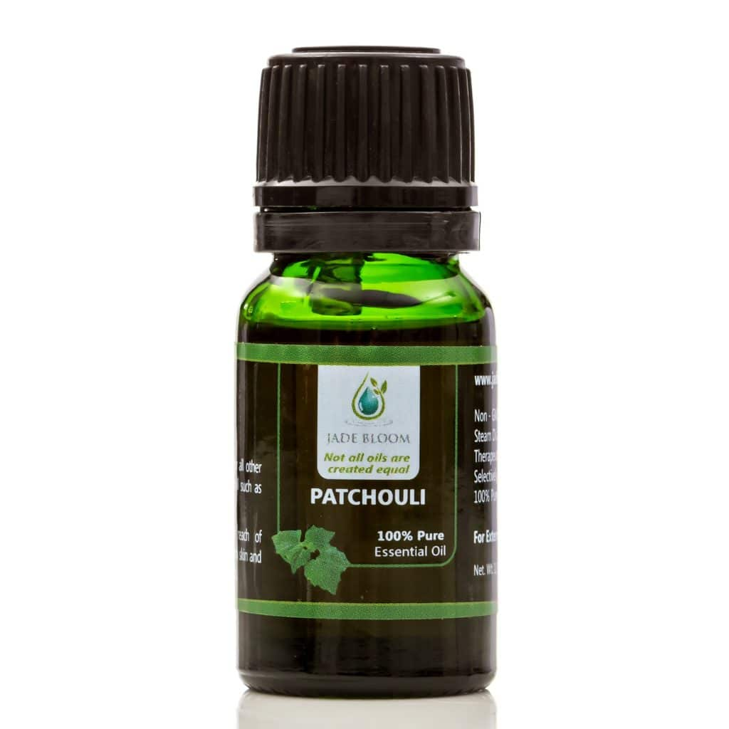 Patchouli essential oil for stretch marks