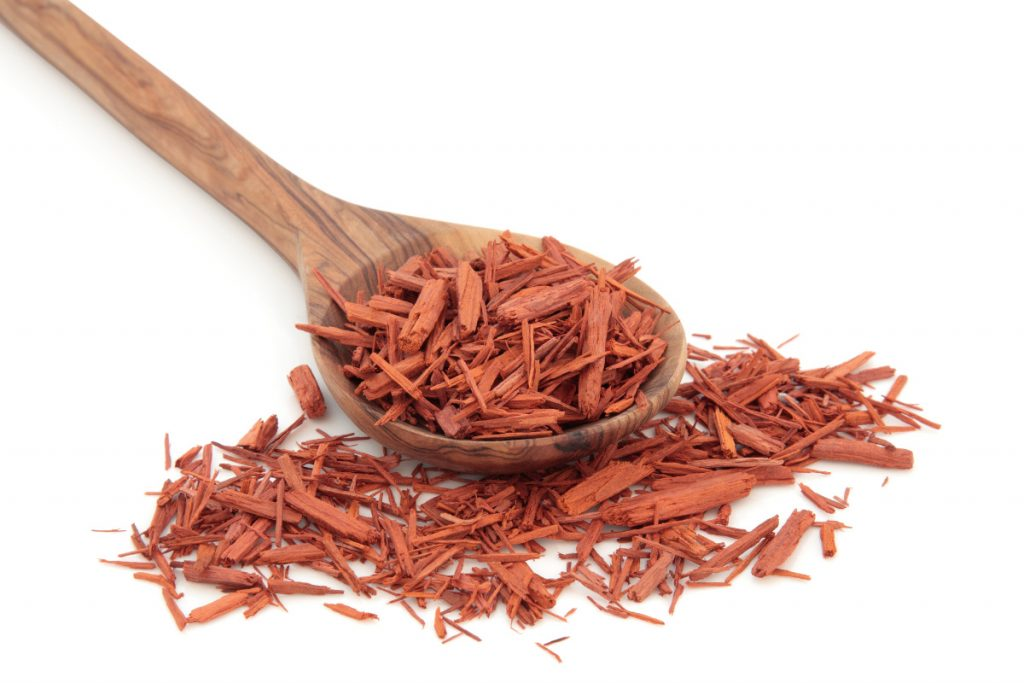 Sandalwood essential oil for Itchy skin