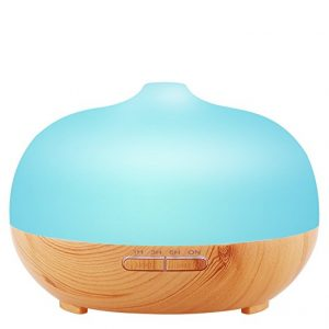 URPOWER Frosted Glass Exterior Ultrasonic Diffuser Humidifier