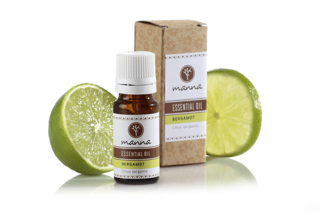 Bergamot essential oil for energy