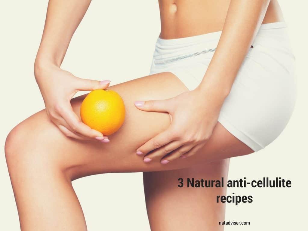 3 Natural anti-cellulite recipes