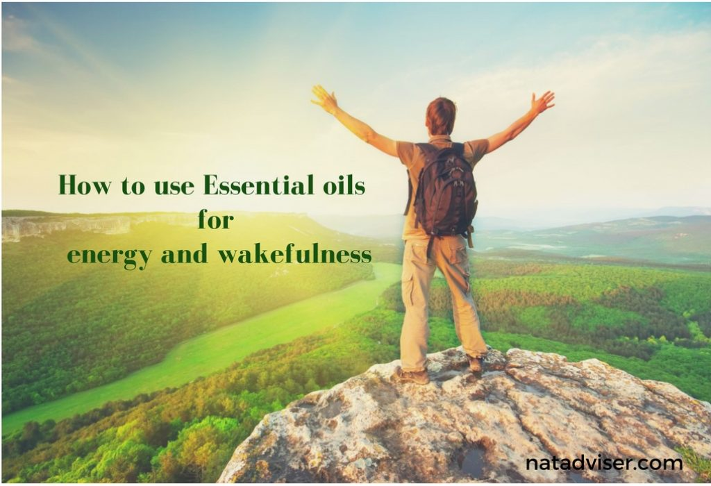 How to use Essential oils for energy and wakefulness