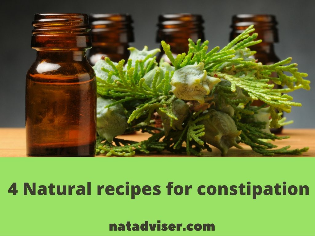 4 Natural recipes for constipation