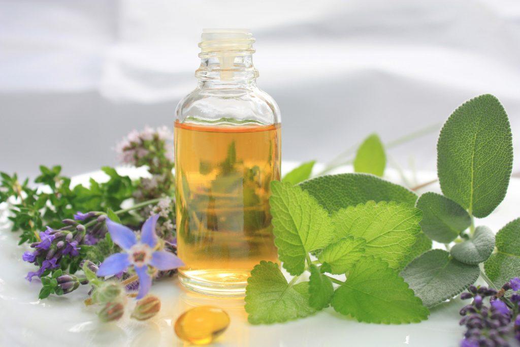 Lemon balm essential oil for cold sores