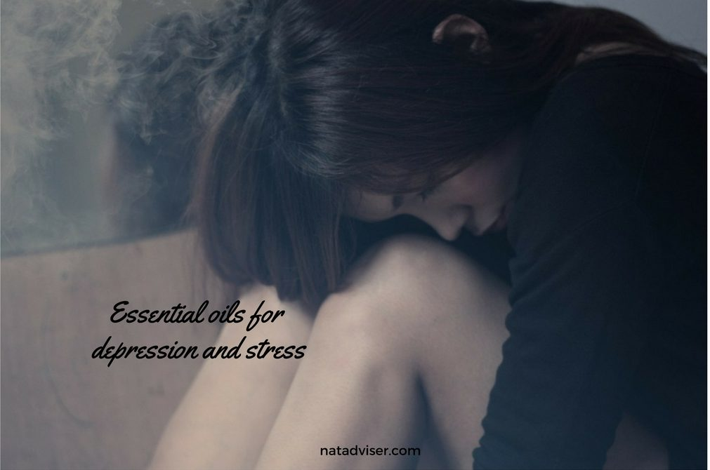 Essential oils for depression and stress