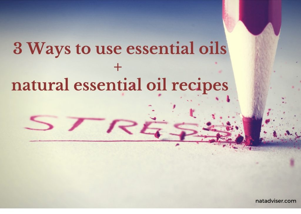 3 Ways to use essential oils + natural essential oil recipes