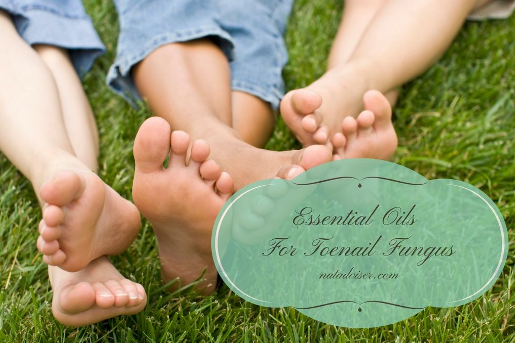 Essential oils for toenail fungus