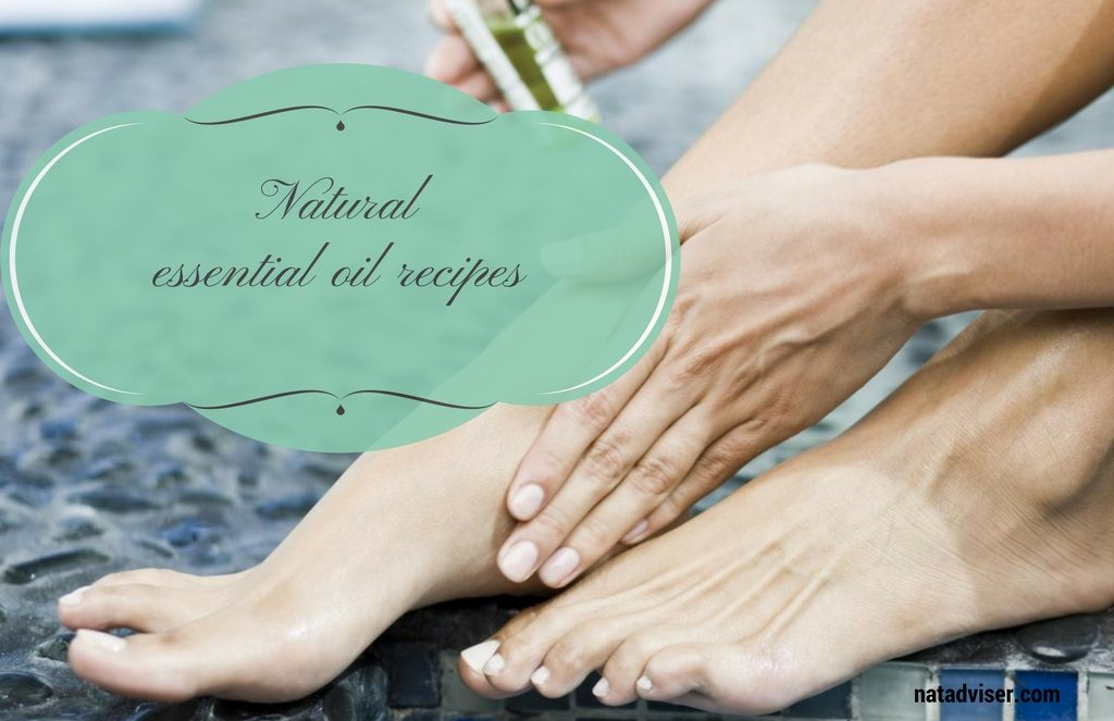 4 Natural essential oil recipes that will help you relieve the symptoms of neuropathy