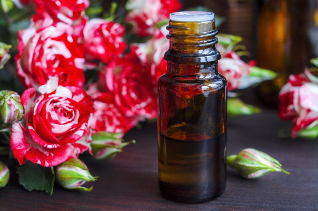 Rose essential oil for High Blood Pressure