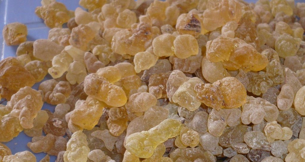 Frankincense essential oil for depression and stress