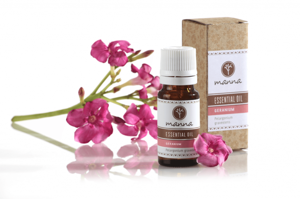 Geranium essential oil for asthma