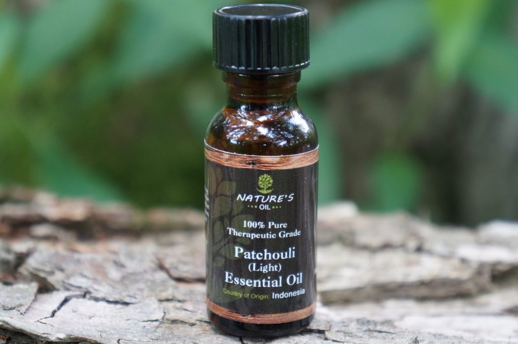 Patchouli essential oil for depression and stress