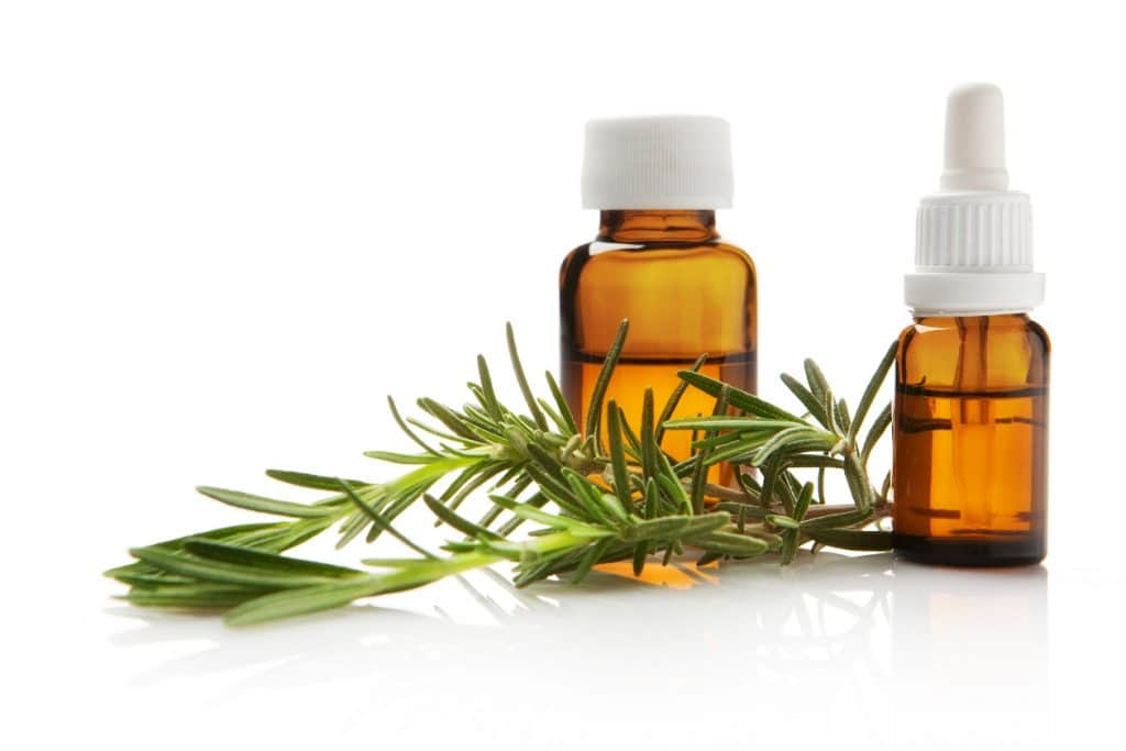 Rosemary essential oil for bronchitis