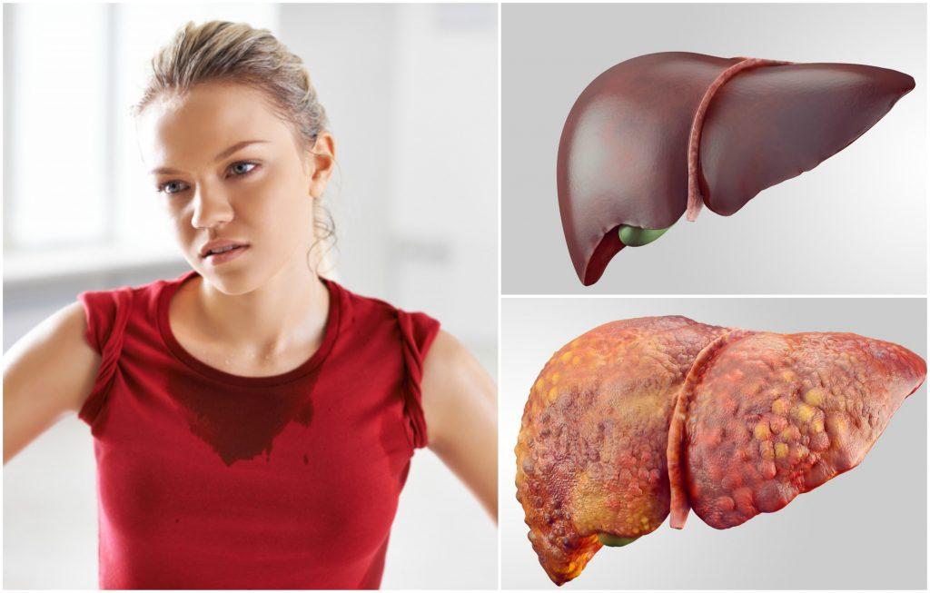 Essential oils for liver