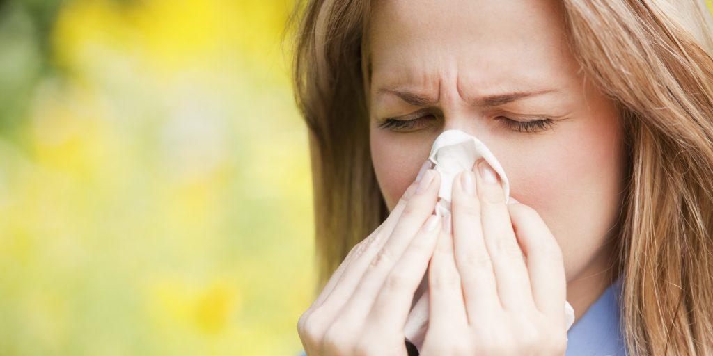 Allergies, sinus congestion