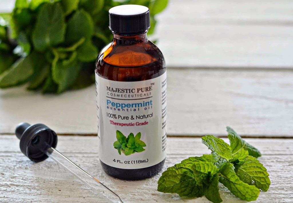 Peppermint Essential Oils for Snoring