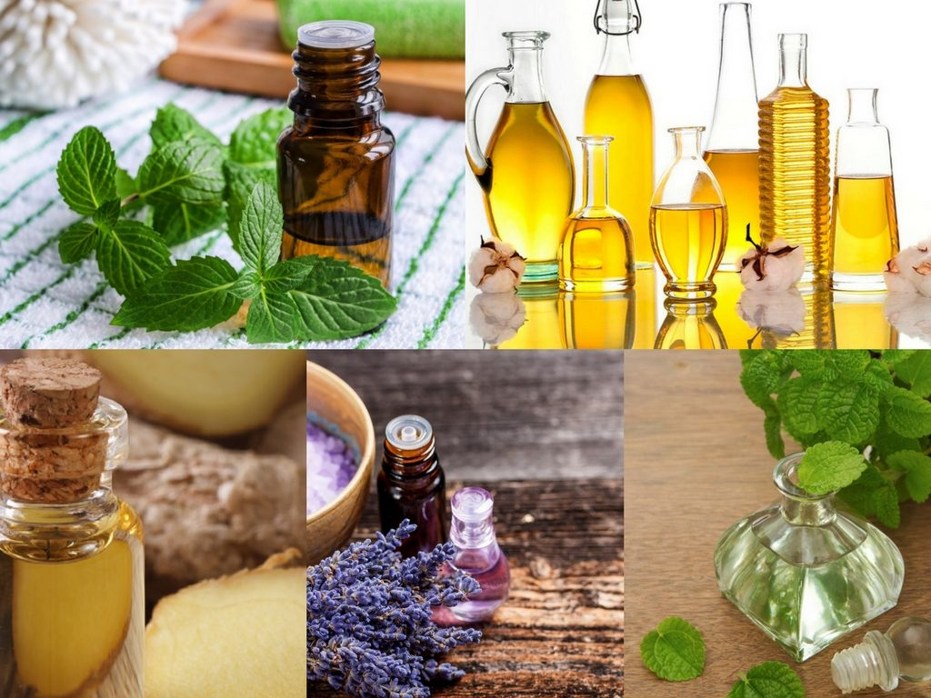 Stomach Flu Relief Blend Recipe with spearmint essential oil