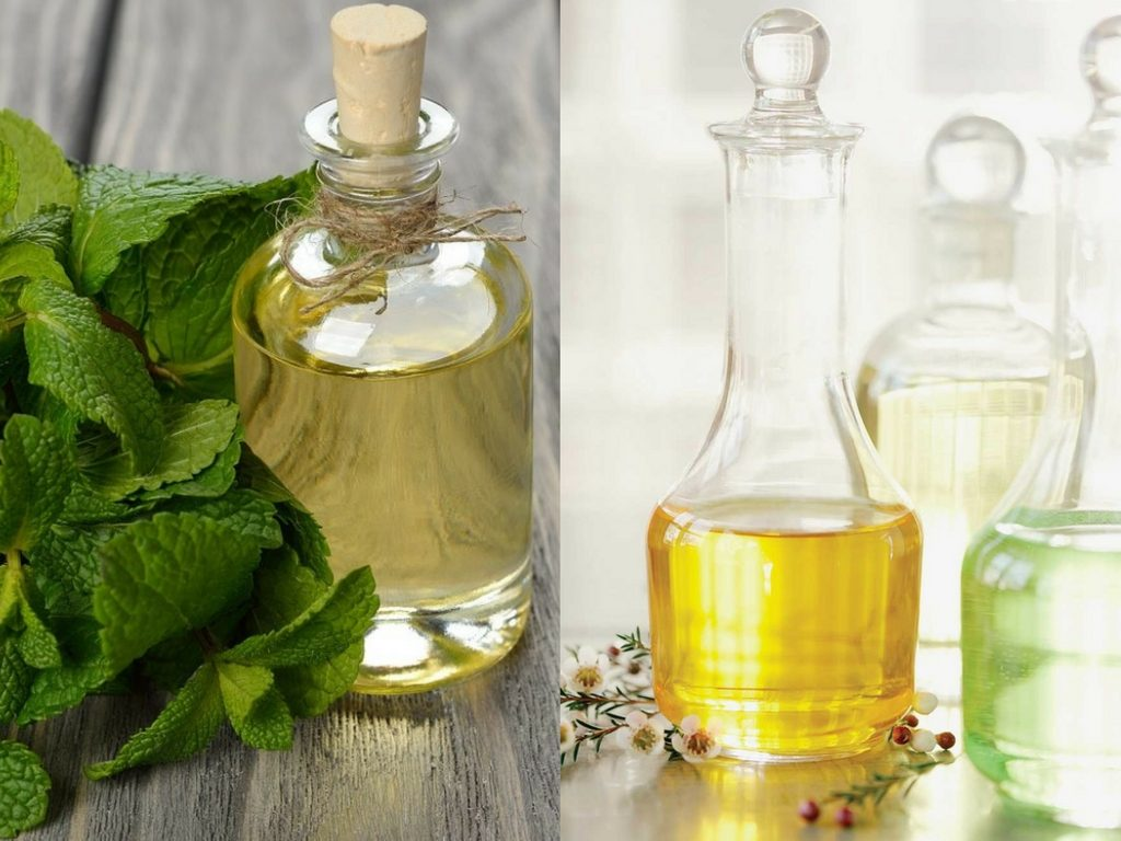 Motion Sickness Blend Recipe with spearmint essential oil