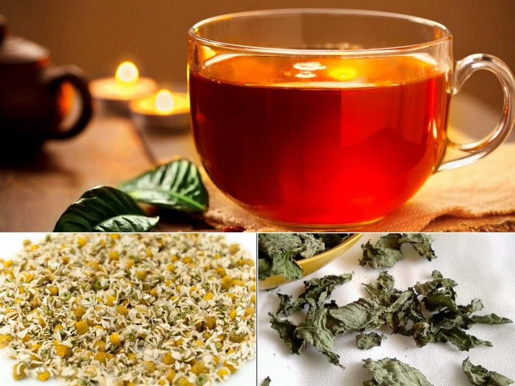 Scented, Soothing Spearmint & Chamomile Tea