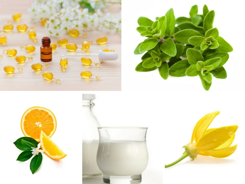 Insomnia Bath Treatment Blend Recipe with neroli essential oil