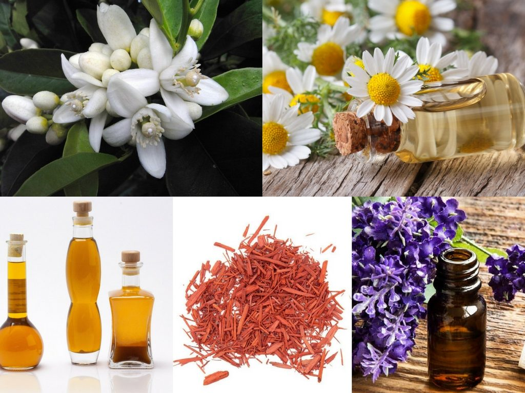 Relaxing Bath Blend Recipe with neroli essential oil