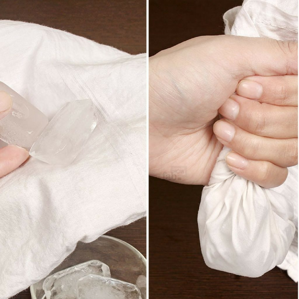 cold compress for bruises