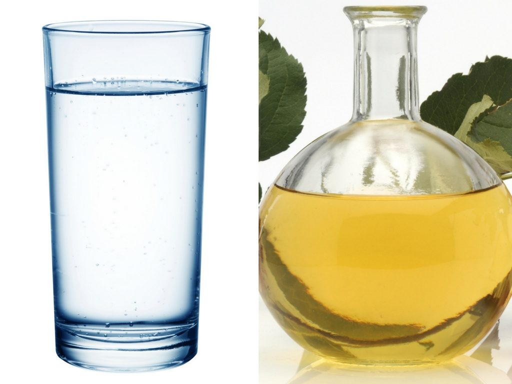 Vinegar compress to get rid of a bruise