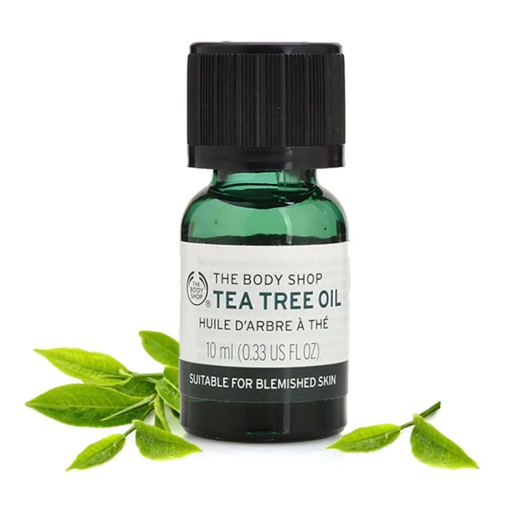 Tea tree oil to treat ringwrom