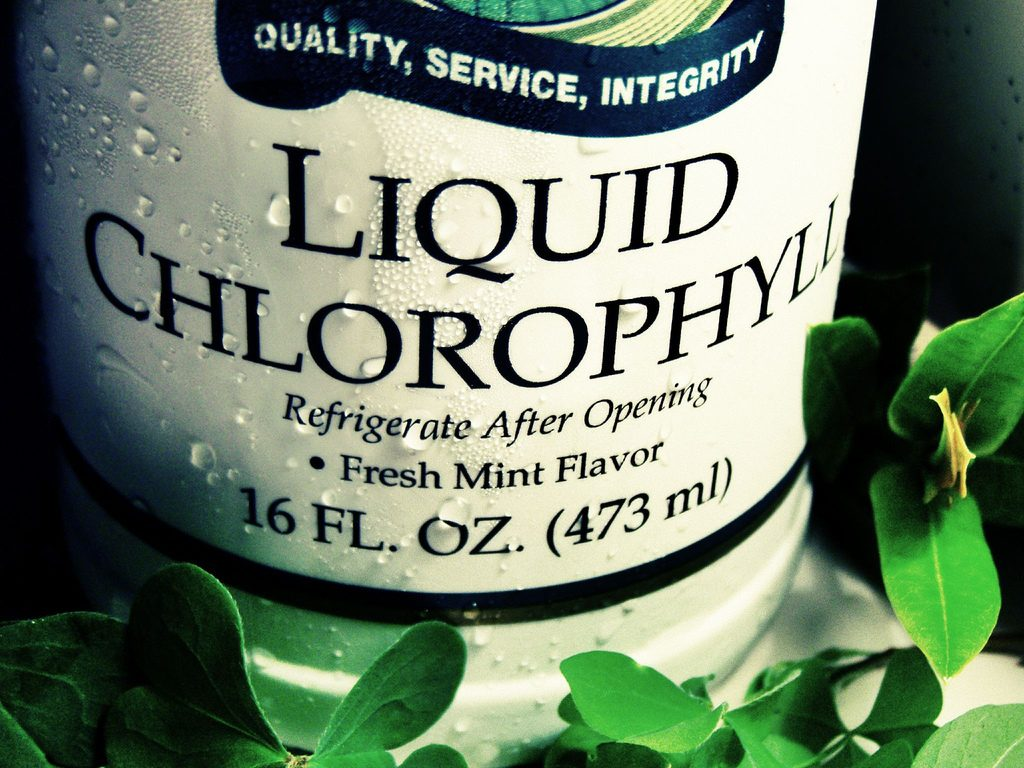 Liquid Chloropyl for vaginal odor