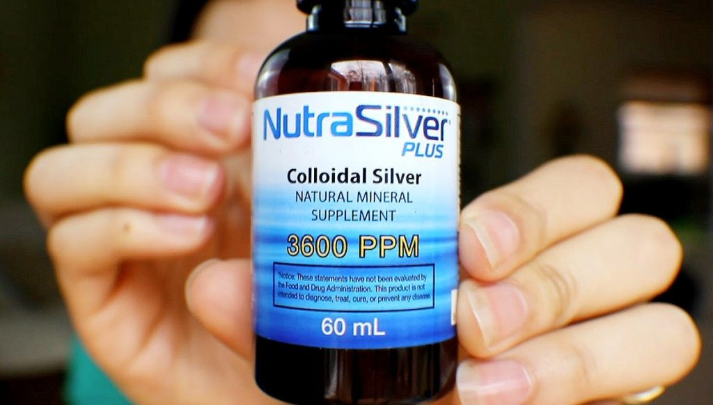 Colloidal Silver natural ringworm treatment