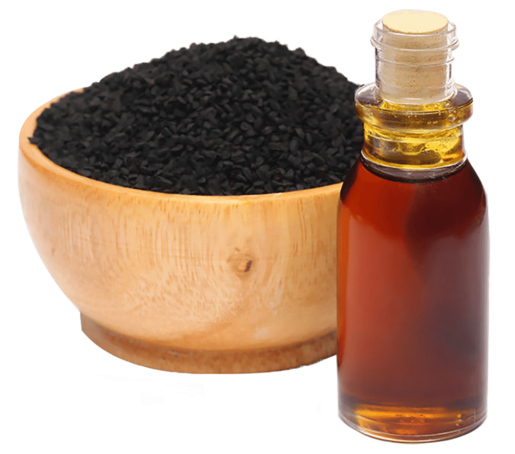 Black seed oil to stop diarrhea