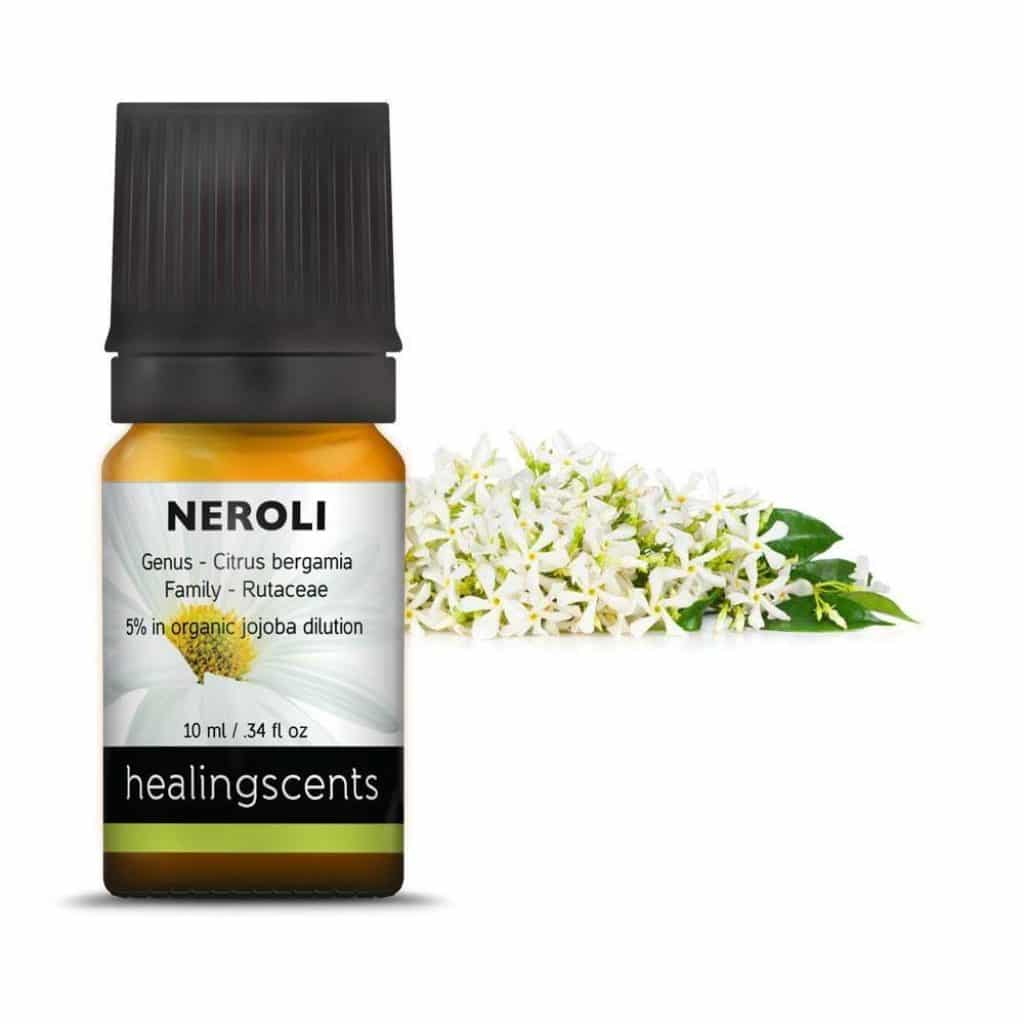 Neroli essential oil for stretch marks