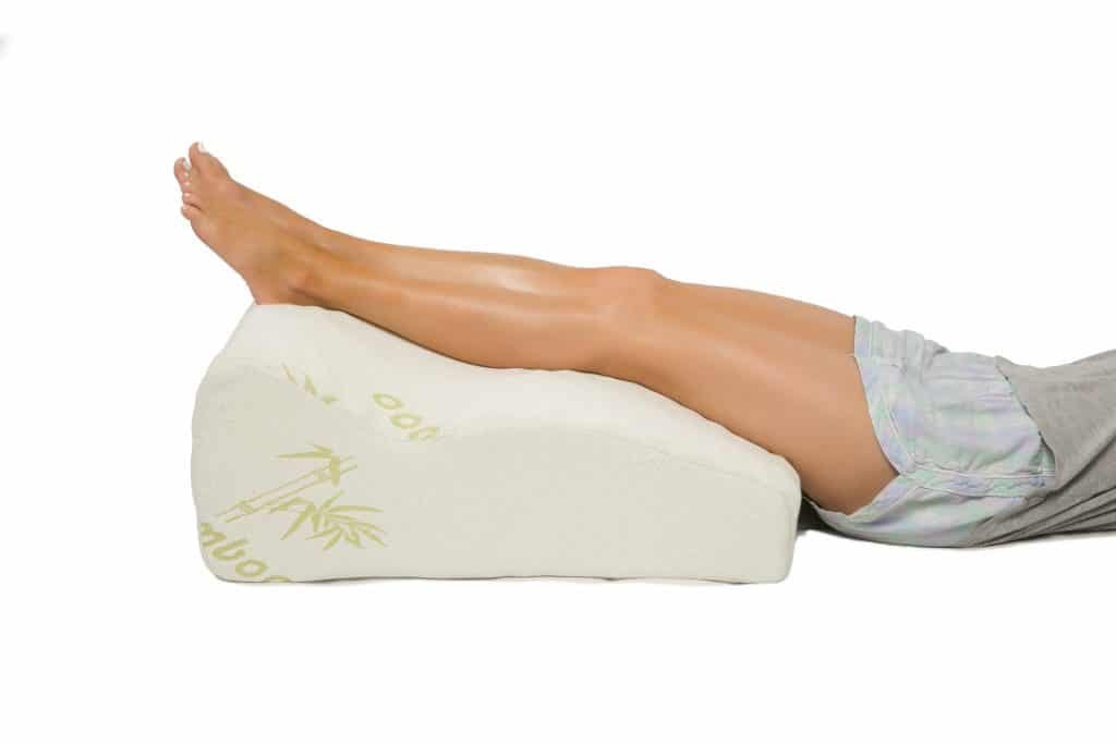 pillows for support of a bruised limb