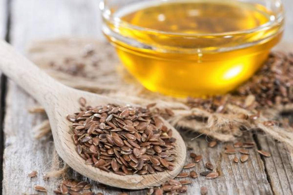how to remove a mole with Flaxseed oil and ground flaxseeds