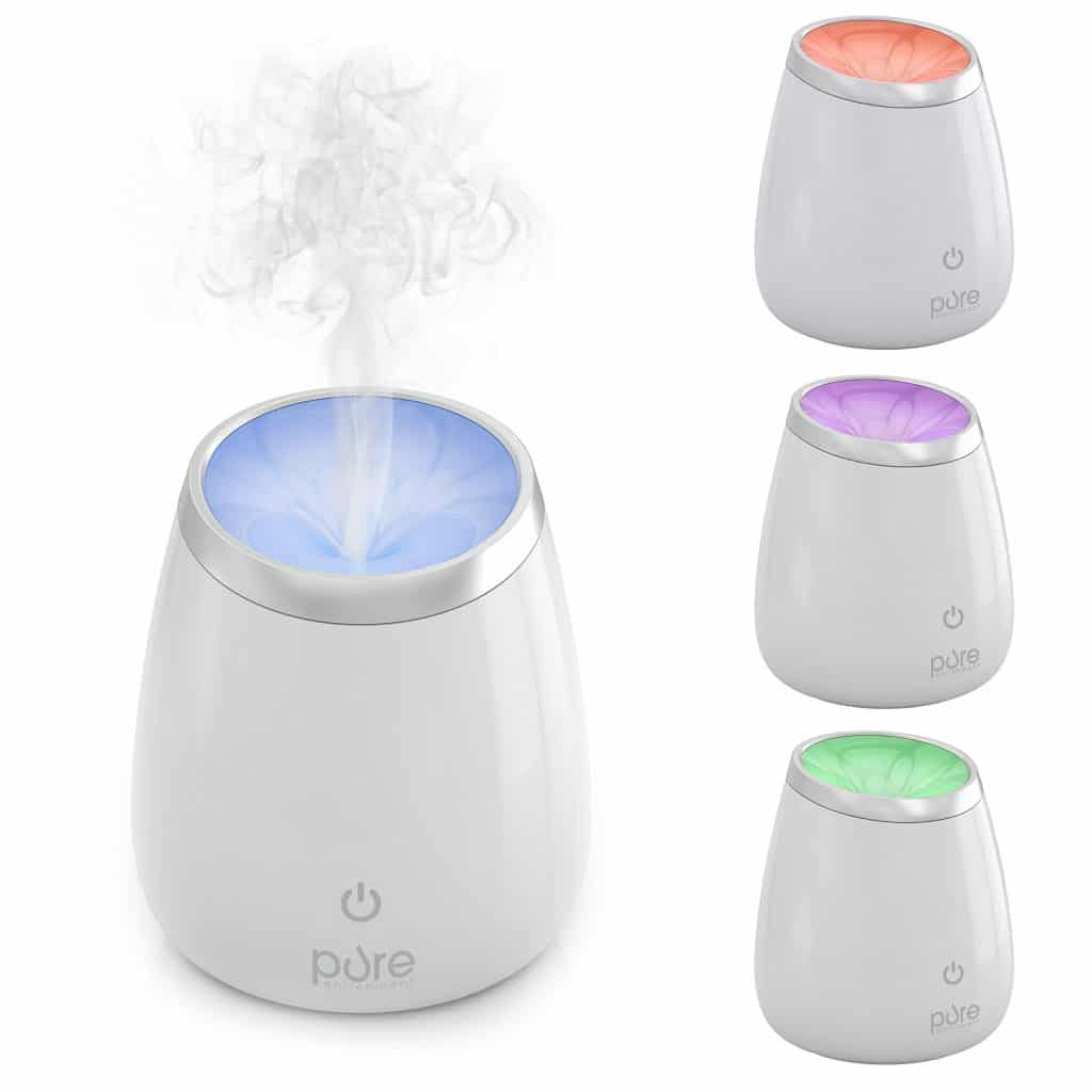 PureSpa Deluxe Ultrasonic Aromatherapy Oil Diffuser — High Capacity Aroma Diffuser
